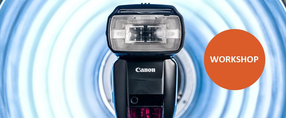 Fotografování s blesky Canon Speedlite