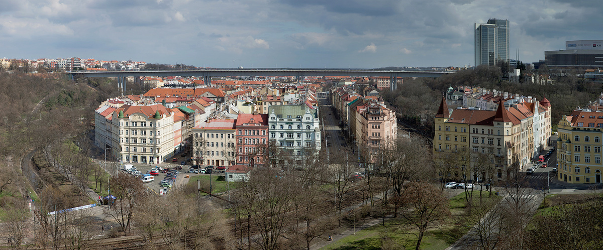 Jdeme fotit panorama na Vyšehrad