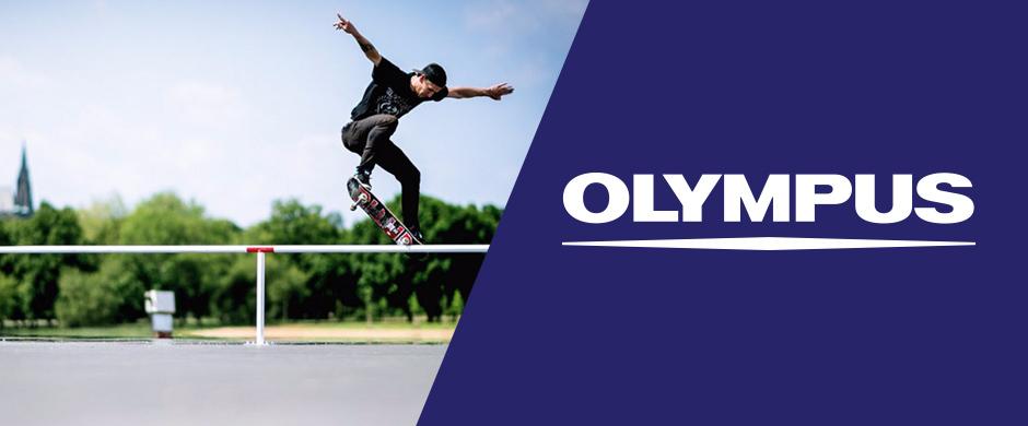 Workshop akční fotografie skateboardingu s Olympusem