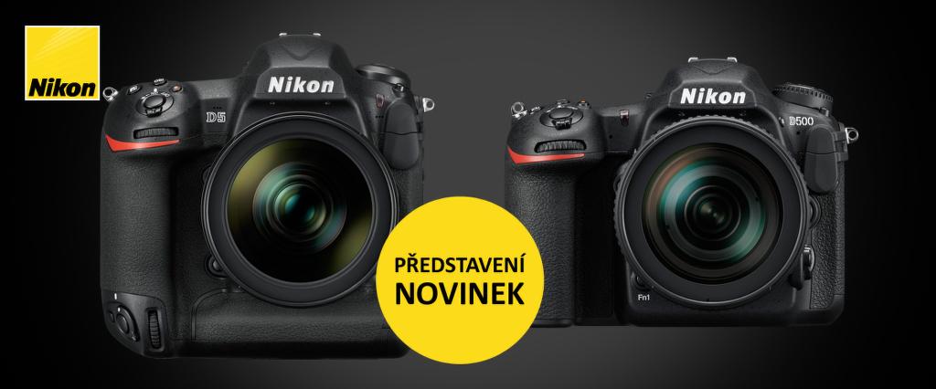 Workshop s novinkami Nikon D5 a D500