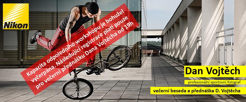 Dan Vojtěch - workshop sportovní fotografie