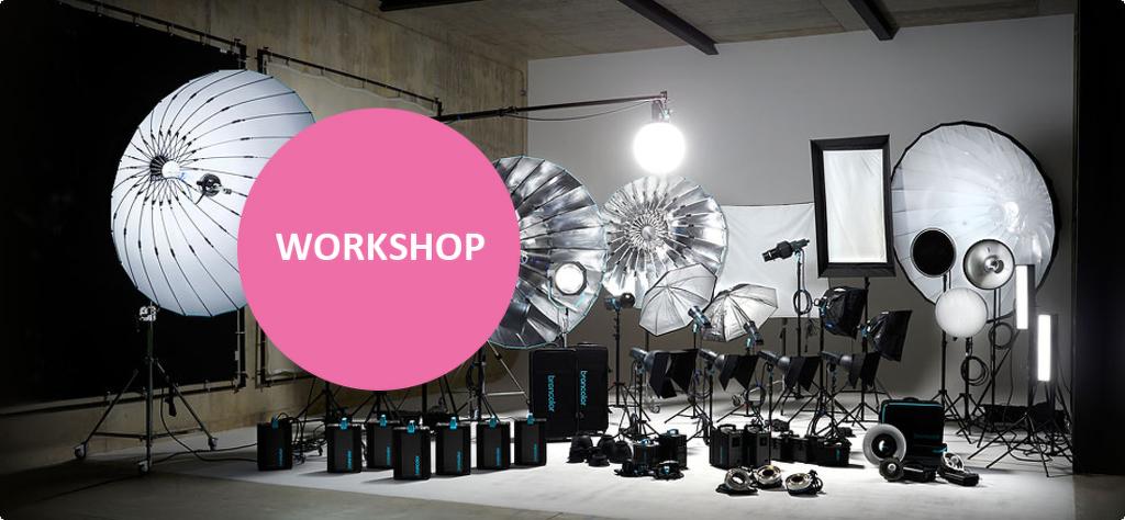Workshop with Broncolor studio lighting