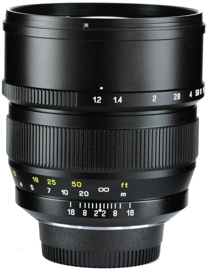 Mitakon Zhongyi Speedmaster 85mm f/1.2 Lens for Pentax K-1 ...