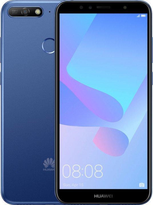 767e58b650d43 Huawei Y6 Prime 2018 modrý