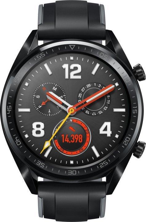Chytré hodinky Huawei Watch GT Sport černé 0af32a87e6