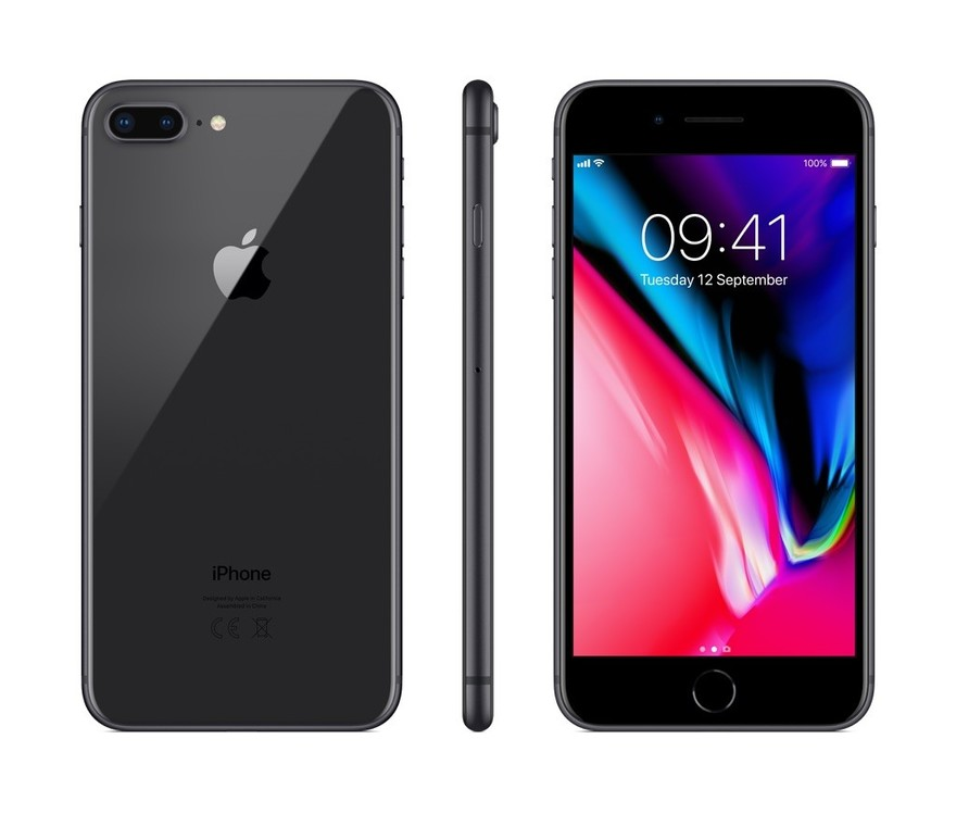 Apple iPhone 8 Plus 256GB šedý