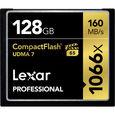 Lexar CF 128GB 1066x Professional UDMA7 160 MB/s (VPG-65)