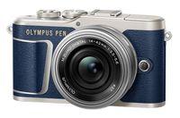 Olympus PEN E-PL9 + 14-42 mm EZ modrý - Zánovní!
