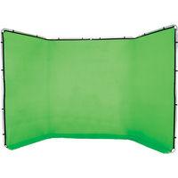 Manfrotto textilní pozadí 2,3x4 m zelené Chromagreen