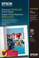 Epson Premium Semigloss Photo Paper A4, 20 listů