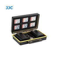 JJC pouzdro na paměťové karty (6× SD) a akumulátory (2×)