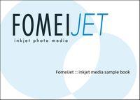 FomeiJet tištěný vzorník A6