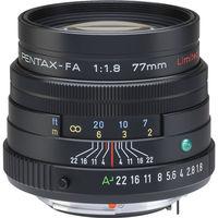 Pentax SMC FA 77 mm f/1,8 Limited černý