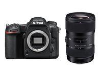 Nikon D500 + Sigma 18-35 mm f/1,8 DC HSM Art