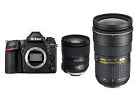 Nikon D780 + Tamron AF SP 24-70 + 70-200 mm f/2,8 Di VC USD G2