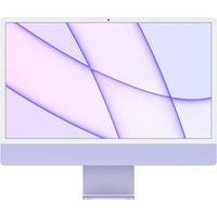 "Apple iMac 24"" M1 (2021) CTO / M1 8C GPU / 16 GB / 256GB SSD fialový + klávesnice s num blokem"