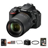 Nikon D5600 + 18-140 mm VR černý - Foto kit