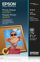 Epson Photo Paper Glossy 13x18cm, 50 listů