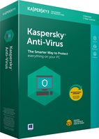 Kaspersky Anti-Virus 2018,1PC,1 rok - OEM karta