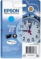 Epson Singlepack T27024012 Cyan 27 DURABrite - azurová