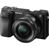 Sony Alpha A6100 + 16-50 mm černý