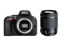 Nikon D5600 tělo + Tamron 18-200 mm f/3,5-6,3 Di II VC!