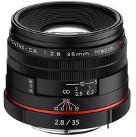 Pentax HD DA 35 mm f/2,8 Macro Limited černý