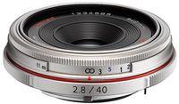Pentax HD DA 40 mm f/2,8 Limited stříbrný