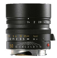 Leica 50 mm f/1,4 ASPH SUMMILUX-M černý