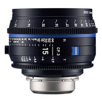 Zeiss Compact Prime CP.3 T* 15 mm f/2,9 pro Canon