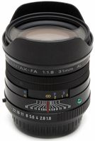 Pentax SMC FA 31 mm f/1,8 limited
