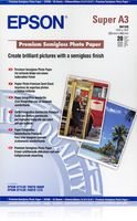Epson Premium Semigloss Photo Paper A3+, 20 listů