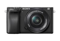Sony Alpha A6400 + 16-50 mm černý