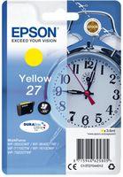 Epson Singlepack T27044012 Yellow 27 DURABrite - žlutá