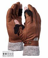 Vallerret Hnědé fotografické rukavice Urbex XL
