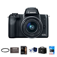 Canon EOS M50 + 15-45 mm - Foto kit