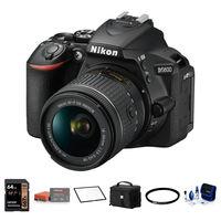 Nikon D5600 + 18-55 mm AF-P VR černý - Foto kit
