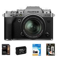 Fujifilm X-T4 + 18-55 mm stříbrný - Foto kit