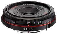 Pentax HD DA 40 mm f/2,8 Limited černý