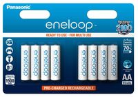 Panasonic Eneloop AA baterie 1900 mAh 8 ks