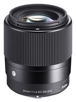 Sigma 30 mm f/1,4 DC DN Contemporary pro Sony E