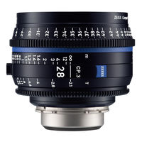 Zeiss Compact Prime CP.3 T* 28 mm f/2,1 pro Canon