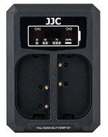 JJC duální USB nabíječka pro akumulátor 2× Panasonic DMW-BLF19 / Sigma BP-61