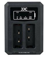 JJC duální USB nabíječka pro akumulátor 2× Olympus BLS-1 / BLS-5 / BLS-50