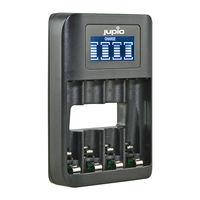 Jupio USB rychlá nabíječka s LCD pro 4x AA nebo AAA baterie