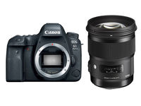 Canon EOS 6D Mark II + Sigma 50 mm f/1,4 DG HSM Art