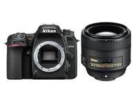 Nikon D7500 + 85 mm f/1,8 G