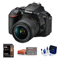 Nikon D5600 + 18-55 mm AF-P VR černý - Základní kit