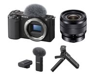 Sony Alpha ZV-E10 tělo + Sony 10-18 mm f/4,0 + Sony ECM-W2BT + Sony GP-VPT2BT