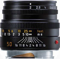 Leica 50 mm f/2,0 SUMMICRON-M